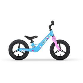 "TABOU Mini Run Magnesium Balance Bike 12"" Kids, blue/pink/white"